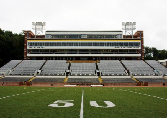 Appalachian State University Kid Brewer Stadium