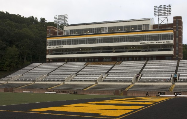 Appalachian State University Kid Brewer Stadium Seating