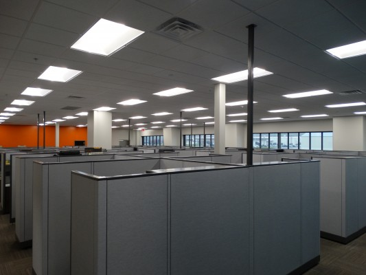 Ashley Furniture Distribution Center Expansion Cubicles
