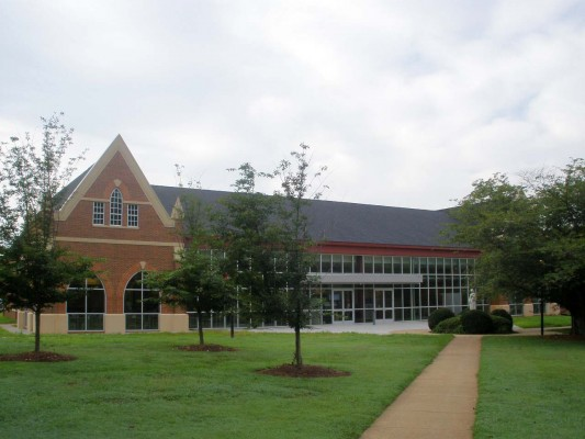 Belmont Abbey Dining Hall Exterior