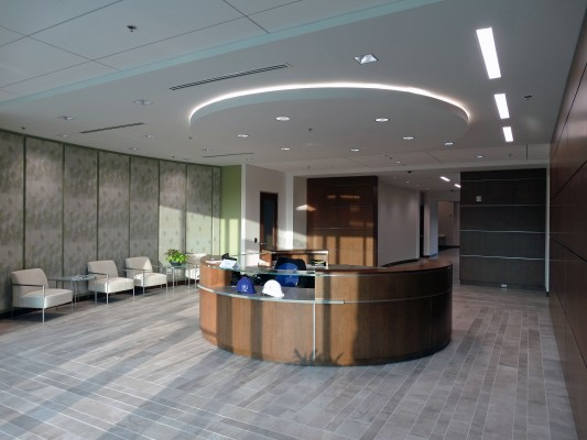 Biologics Office Building Lobby