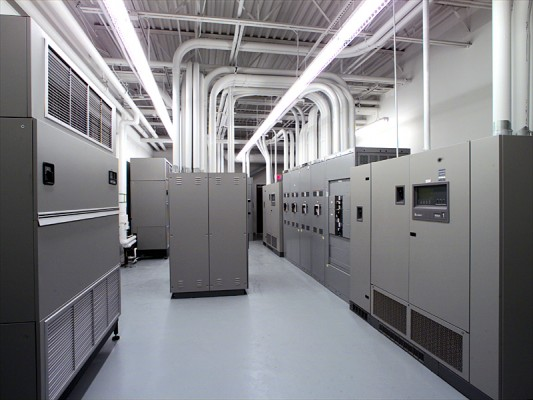 Carolinas HealthCare Data Center Server Room