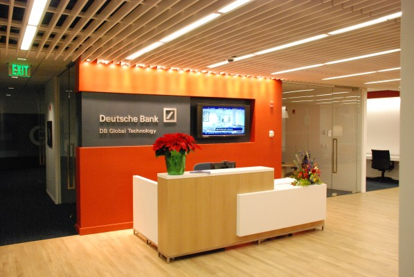Deutsche Bank Reception Area