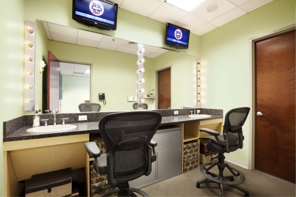 ESPN SEC Network Make Up Room