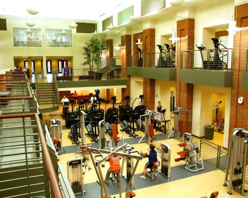 Clemson University Fike Recreation Wellness Center Gym