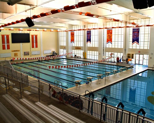 Clemson University Fike Recreation Wellness Center Pool