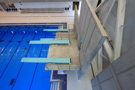 Greensboro Aquatic Center Diving Shot
