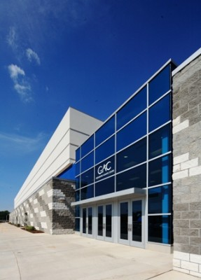 Greensboro Aquatic Center Exterior