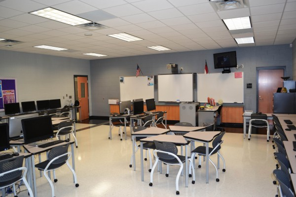 Gaston High School Classroom