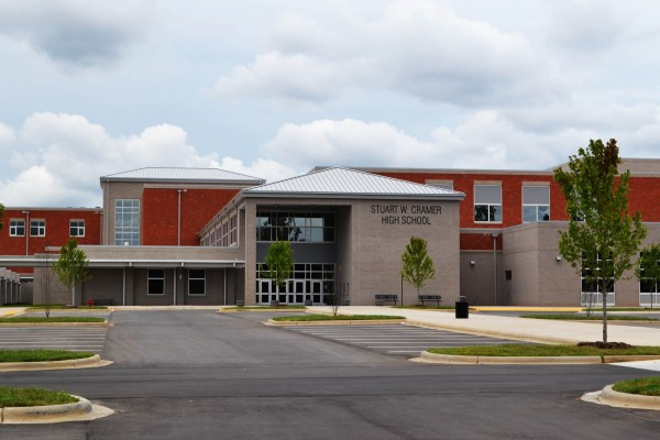 Gaston High School Exterior
