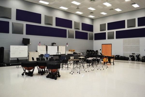 Gaston High School Music Room