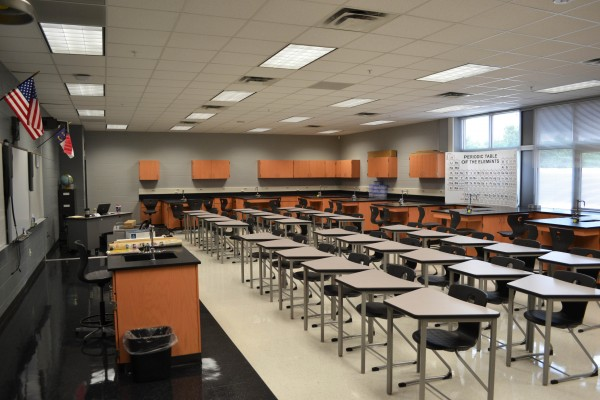 Gaston High School Science Lab