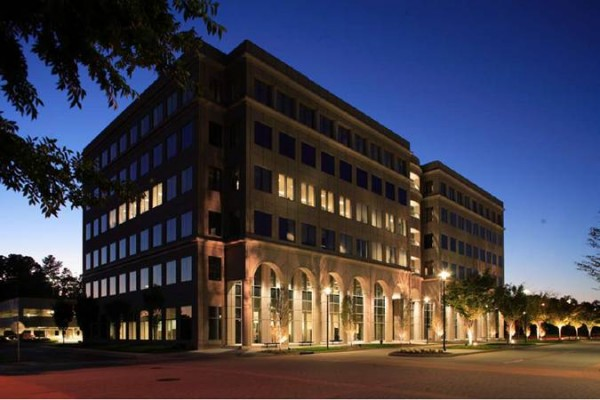 GlenLake II Office Building Exterior Shot at Dusk