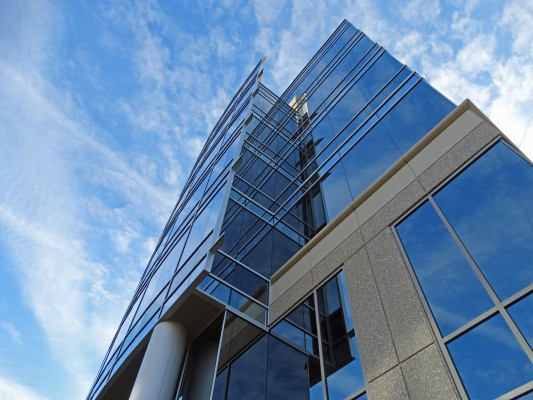 GlenLake V Office Building and Parking Deck Exterior