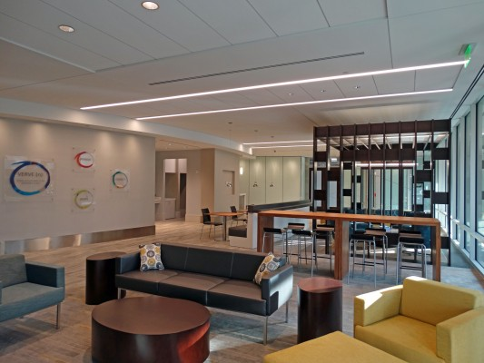 GlenLake V Office Building Interior Lobby