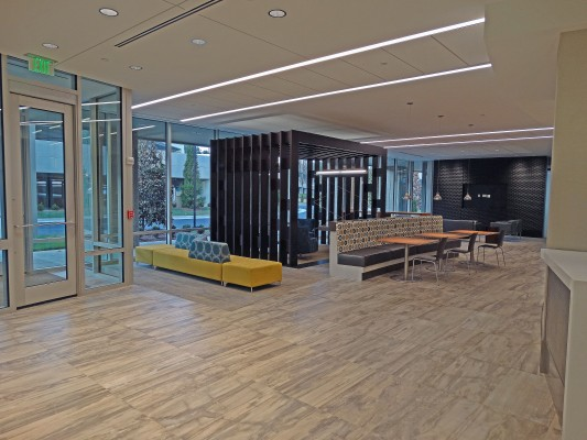 GlenLake V Office Building Lobby