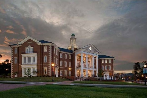 High Point University Nido R. Qubein School of Communication Exterior