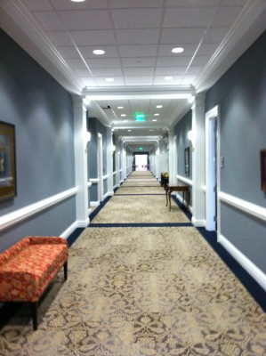 High Point University School of Education Interior