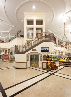 Harris Teeter Myers Park Entrance and Staircase