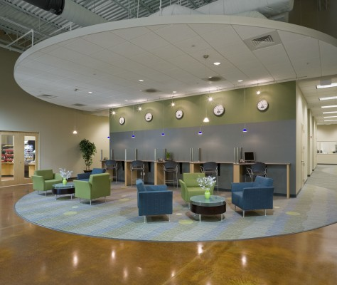 HandHeld Products Lobby and Reception Area