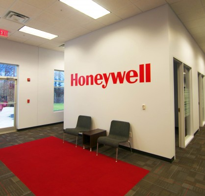 Honeywell Expansion Tilt Panel Warehouse Lobby