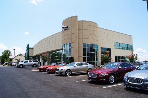 Jaguar Land Rover Full Building Exterior