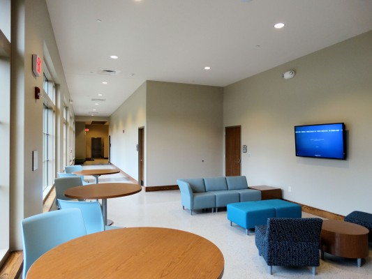 Lees-McRae May School of Nursing Lobby Area
