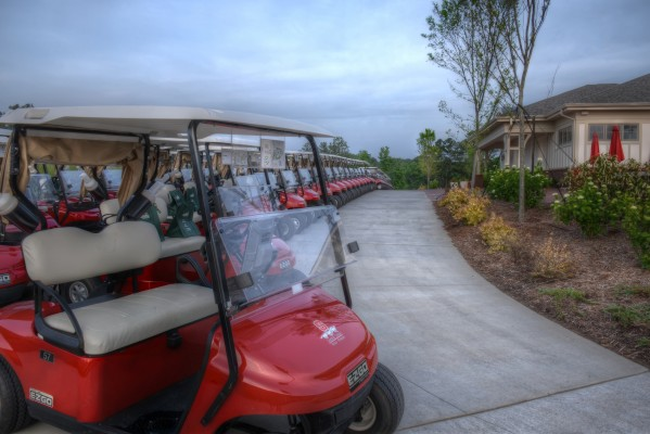 NC State University Carol Johnson Poole Golf Clubhouse Golf Carts