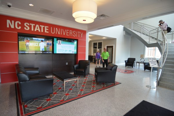 NC State University Carol Johnson Poole Golf Clubhouse Lobby