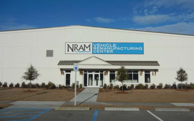 New River Auto Mall Vehicle Remanufacturing Center Exterior Building Shot