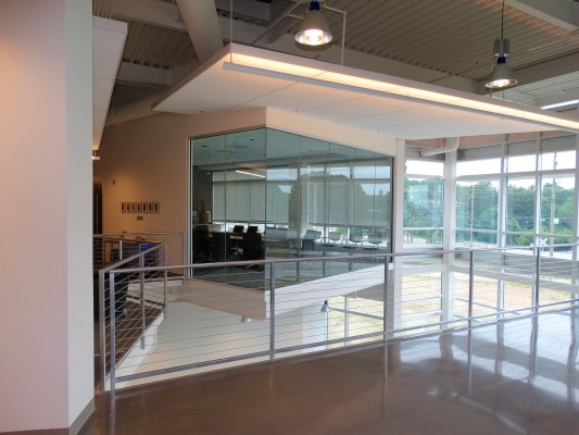 Piedmont Advantage Credit Union Glass Interior