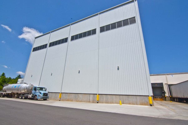Pharr Yarns Extrusion Building Exterior