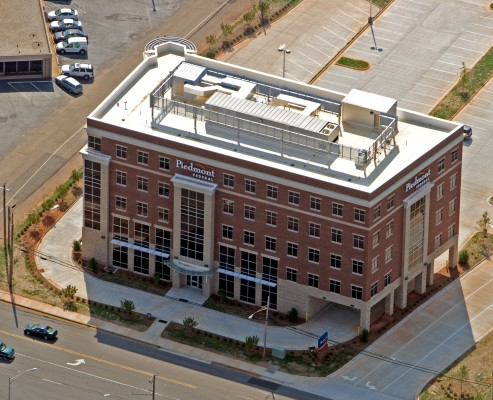 Piedmont Federal Savings Bank Aerial Front