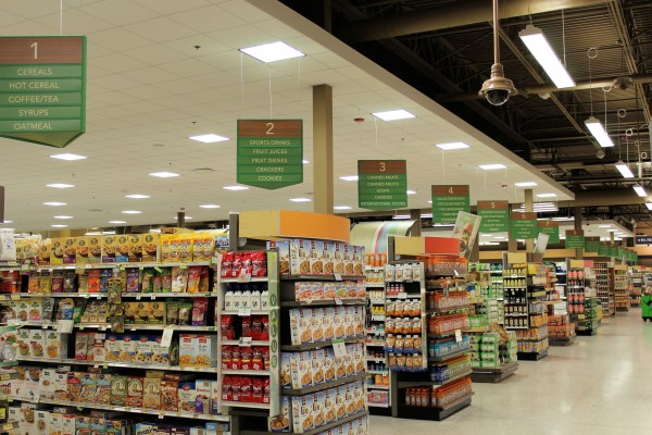 Publix Ballantyne Checkout Area