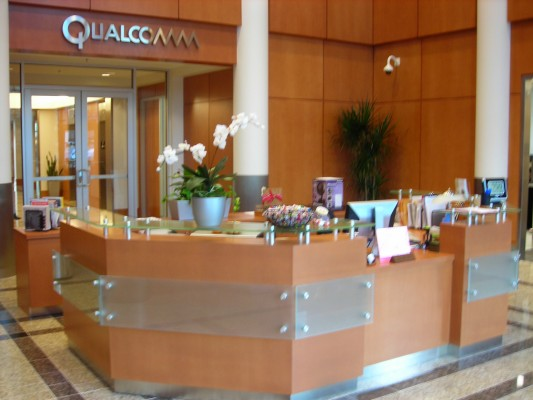 Qualcomm Reception Area