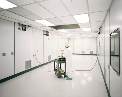 RF Nitro Clean Room Interior
