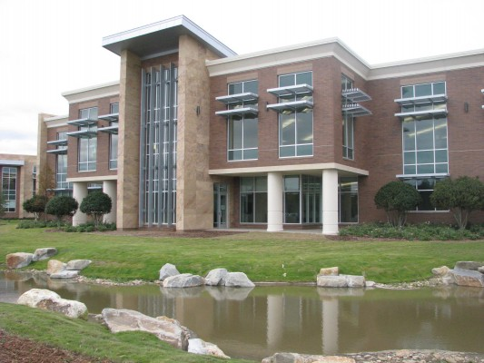 SCANA Corporate Headquarters Exterior Pond