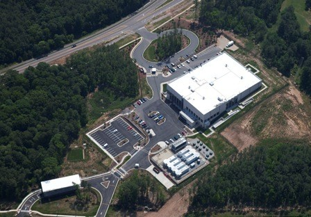 SSA Data Center Aerial Exterior