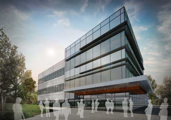 Sealed Air Corporate Headquarters Rendering