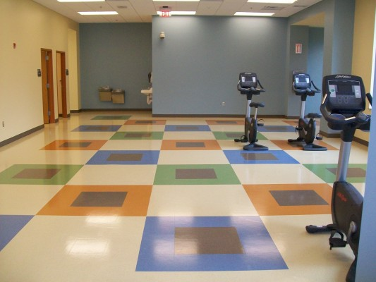 UNC Amberly Fitness Center Interior
