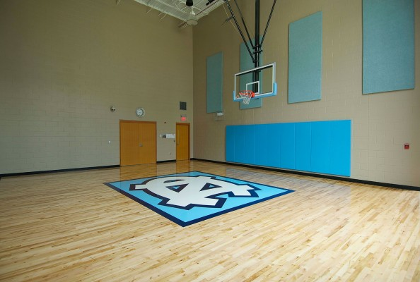 UNC Amberly Fitness Center Basketball Court