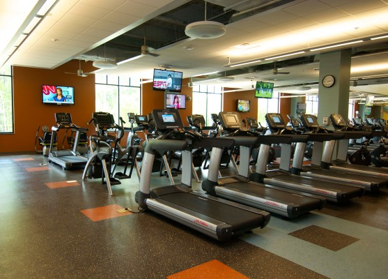 UNC Amberly Wellness Center Fitness Room