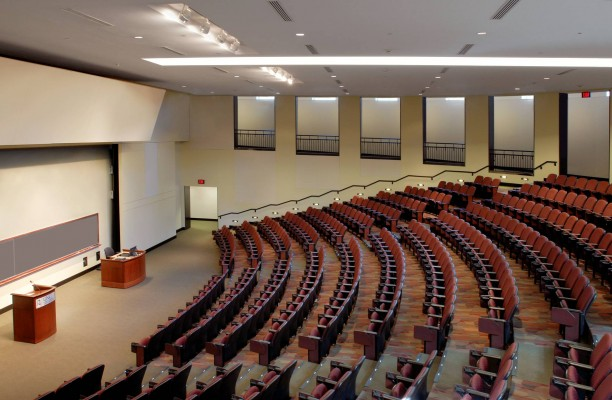 UNC Chapel Hill McColl - Renovation Kenan Flagler Business School Auditorium