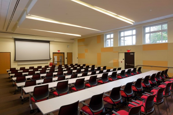 Winston-Salem State University Hill Hall Student Success Center Classroom