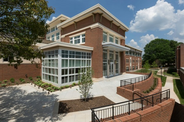 Winston-Salem State University Hill Hall Student Success Center Exterior