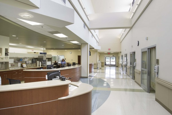 Waxhaw Medical Office Reception Area