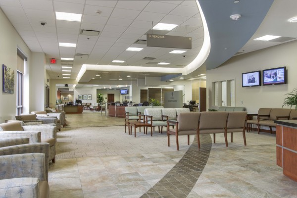 Waxhaw Medical Office Waiting Area