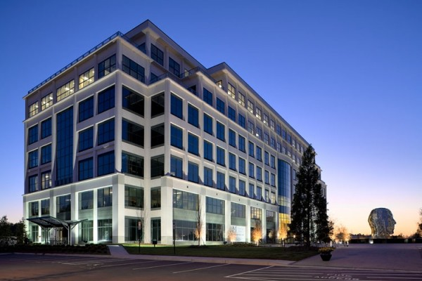 Whitehall Corporate Center Exterior at Dusk
